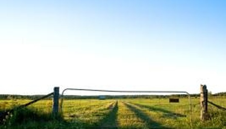 Aluminum gates are fixtures on many farms.
