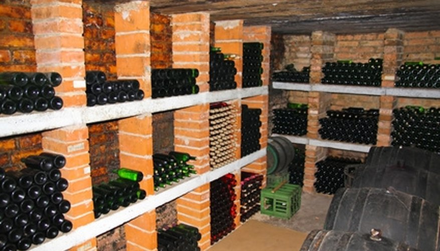 Maintain ideal wine storage conditions for well-aged wine.