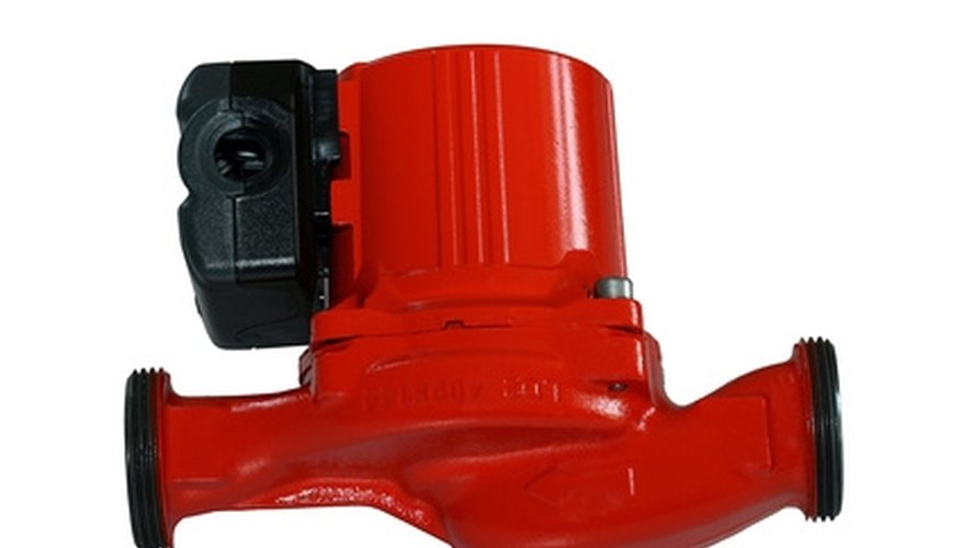 Wiring a circulator pump are used in domestic heating systems.