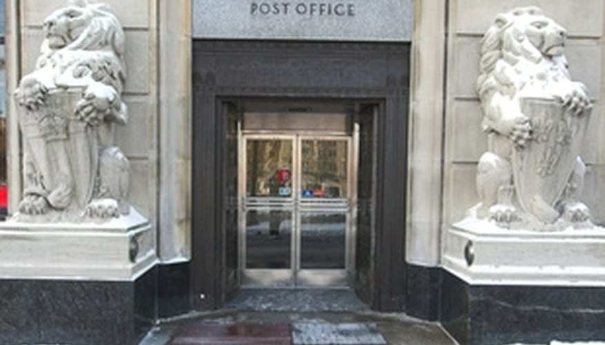 Buy postal money orders at a United States Post Office.