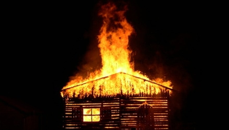 People may lose everything if their home catches fire.