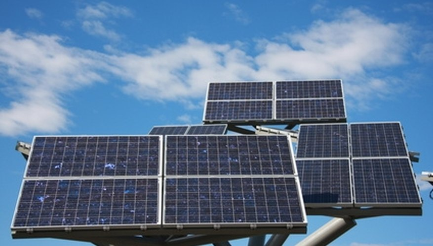 Solar photovoltaic panels are one way to collect and store electric energy.