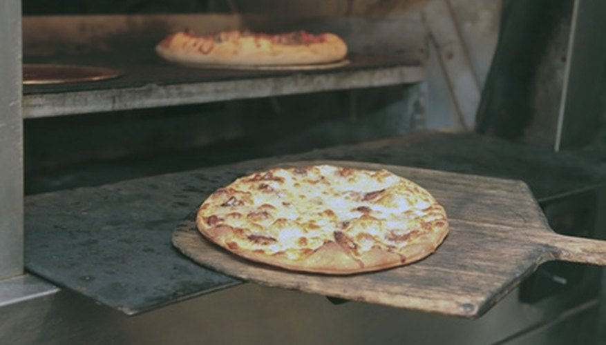 The best pizzas are cooked in coal- and wood-fired traditional pizza ovens.