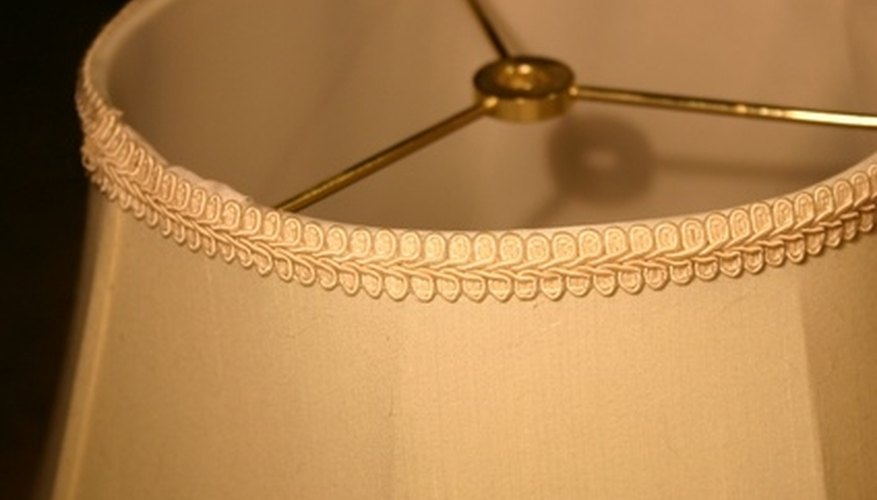 Proper lamp shade measurement ensures a good fit for your lamp.