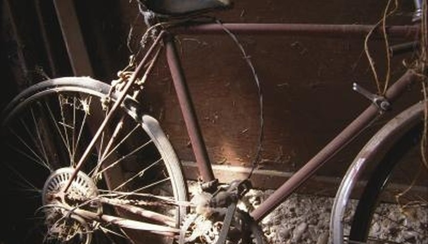 Proper storage saves bikes from corrosion.