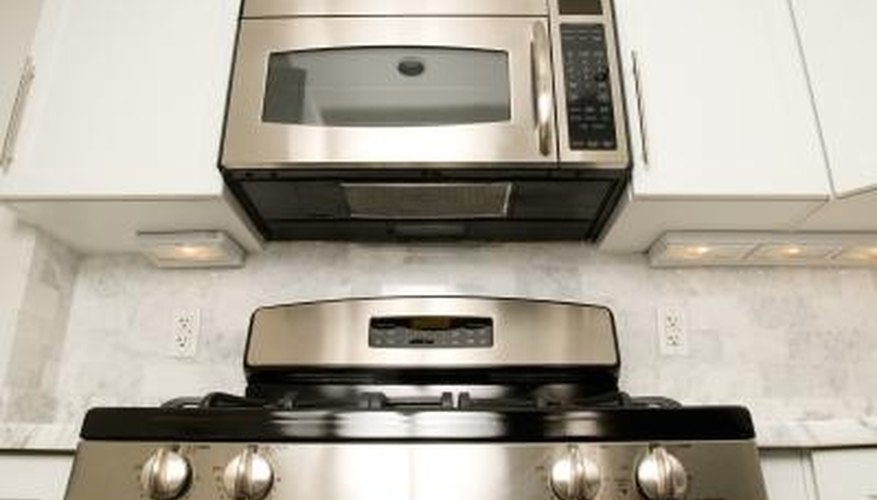 Installing microwaves over the range can free up your counter space.