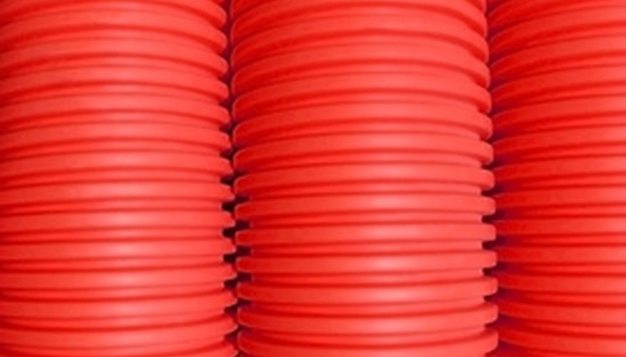 The carrying capacity of pipes depends on the substance being carried.
