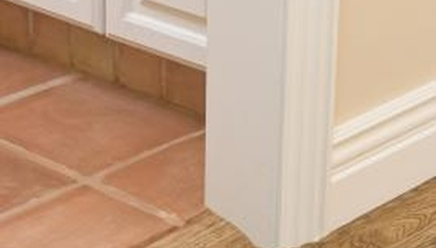 You must cut tiles for them to fit into a margin of your house.
