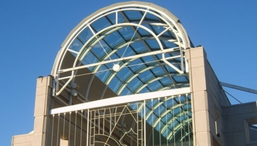 Use acrylic sheets in place of glass for roofs and skylights.