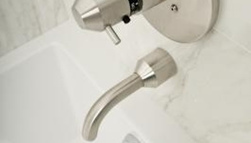 Don't disassemble a faucet before shutting off the main water valve.
