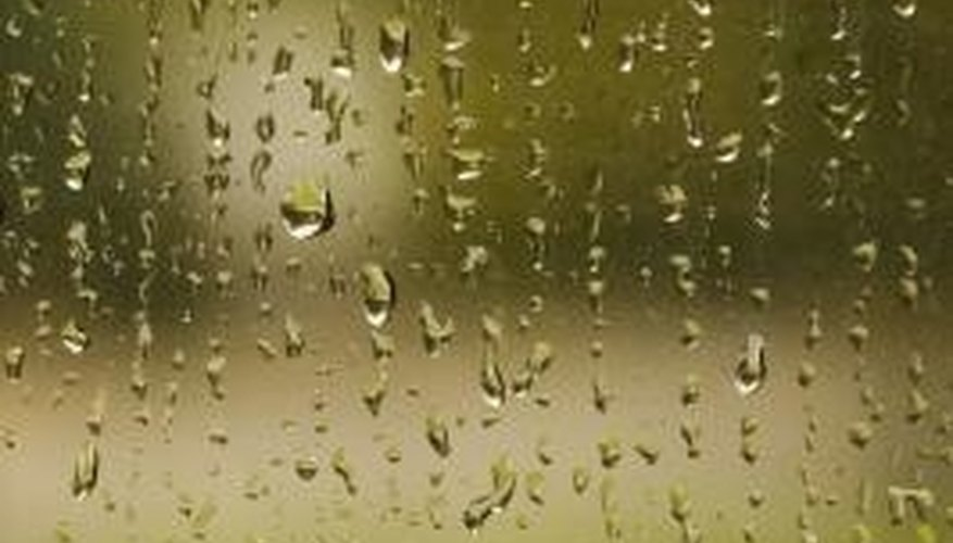 Condensation on windows can damage walls and ceilings. (reference 2)