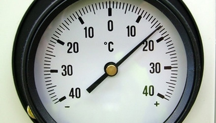 Degree days are a measure of the average number of days above or below the desired temperature.