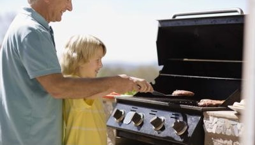 Follow instructions when lighting an using a Charmglow gas grill.