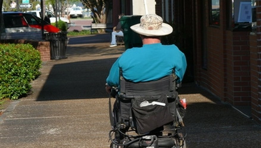 Many individuals depend on wheelchairs for mobility.