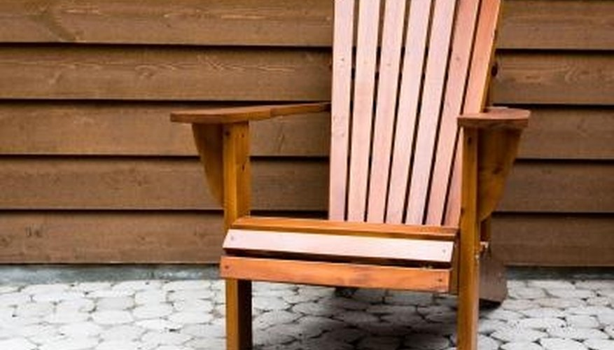 You Can Seal, Stain Or Leave Your Cedar Patio Furniture Unfinished. Part 7