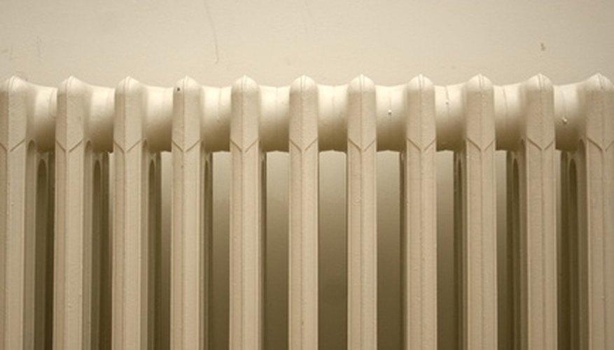 Radiators are a common heat exchanger.