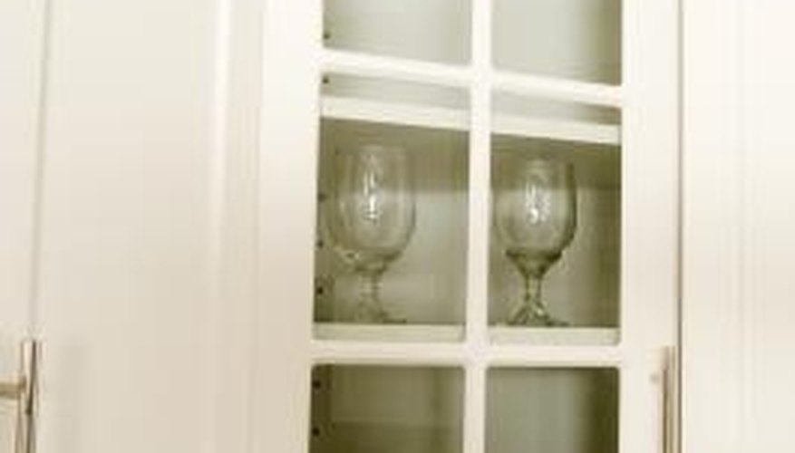 How to Replace the Glass in a Cabinet Door | HomeSteady