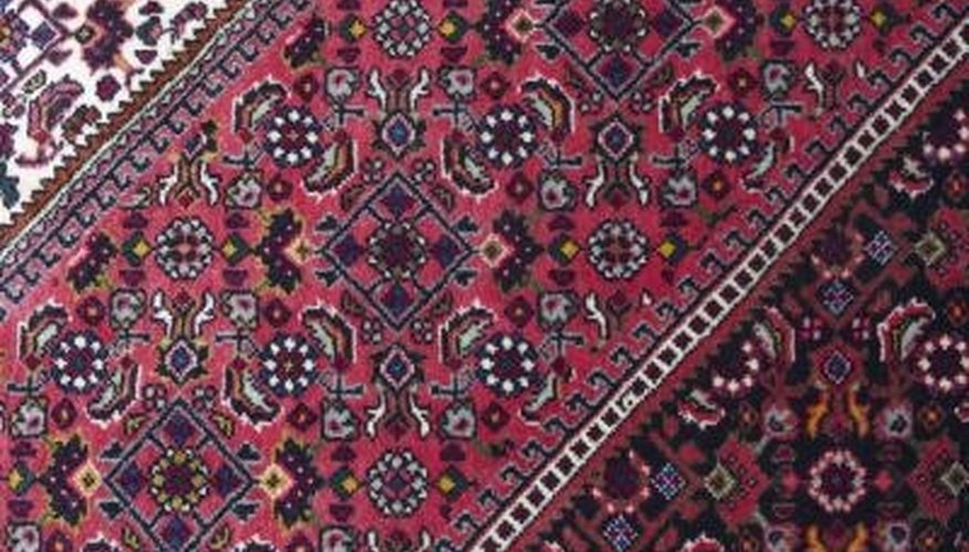 Oriental rugs will last longer and look better if cleaned with a gentle touch.
