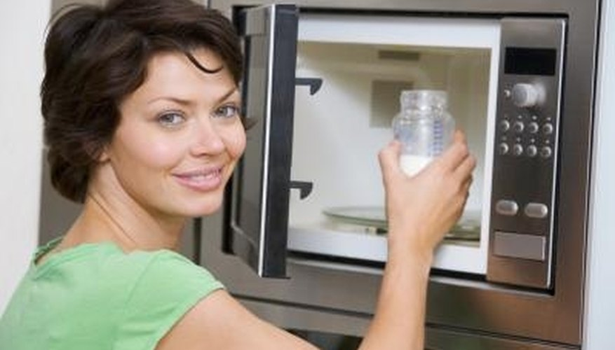 Don't call a repair person to fix a broken microwave door handle; you can replace it yourself.