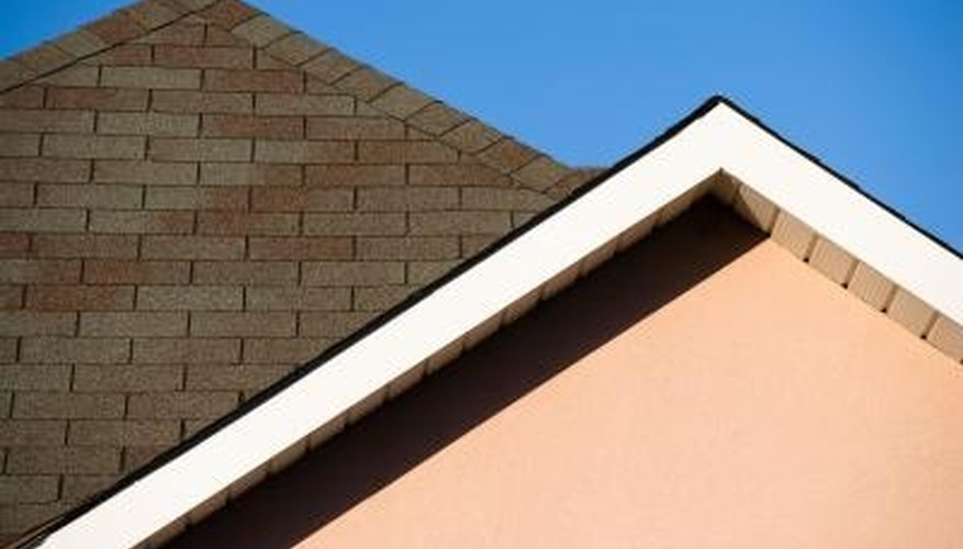 Tar should not normally be visible on roof shingles.