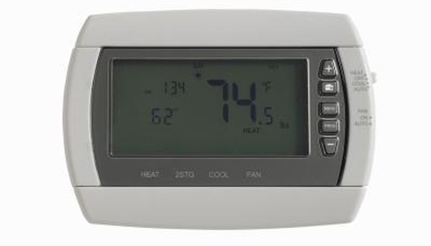 Troubleshooting and repairing your thermostat gives you control of your heating needs.