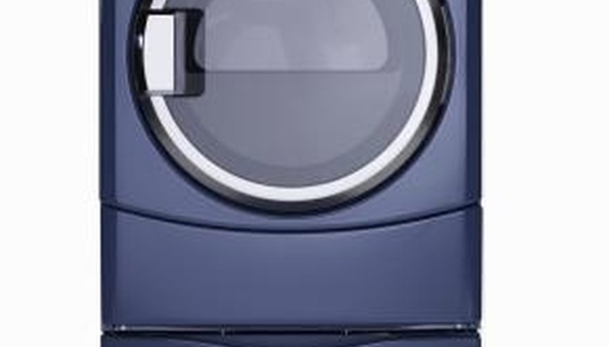 Clothes dryers have specific electrical current requirements.