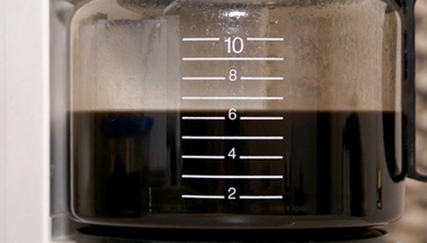Keep your coffee pot clean for fresh tasting java.
