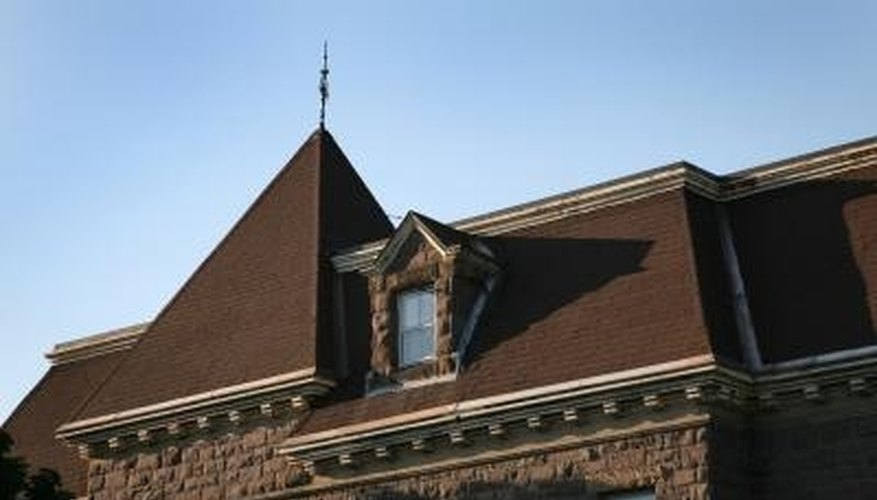 Mansard roofs are elegant but challenging to work on.