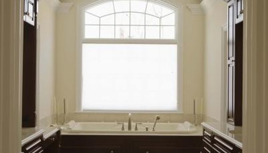 Odd-shaped windows are interesting to look at, but challenging to dress.