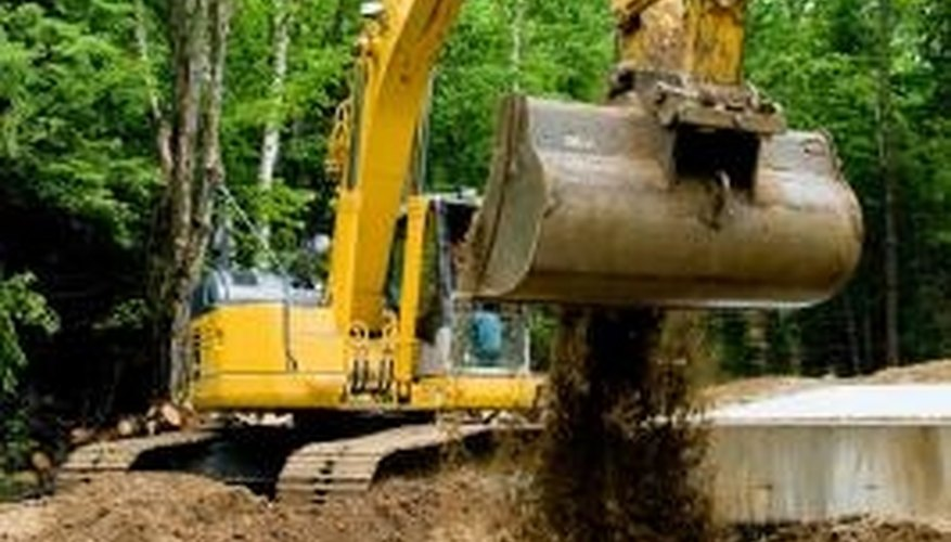 Your septic tank will be buried somewhere near your home.