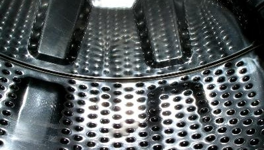 Drain water may collect under the drum, causing odors.