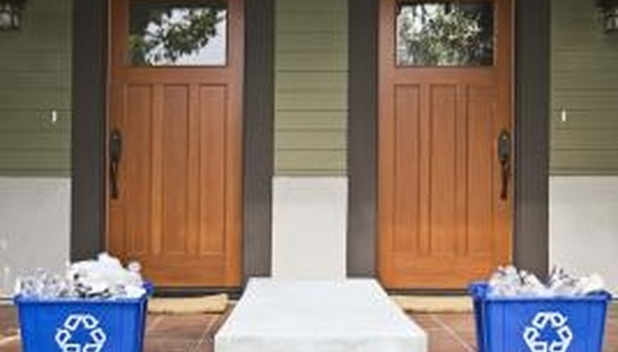 Sand your doors well before you refinish them.