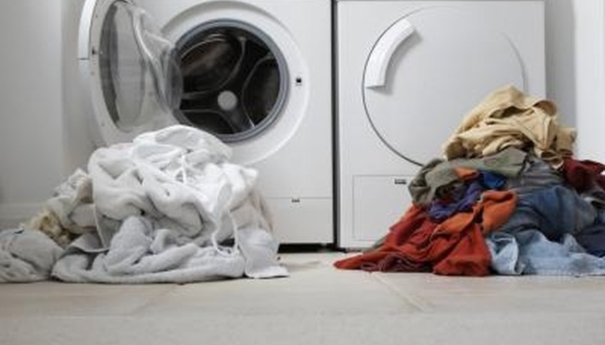 Front-loading washing machines need regular cleaning to prevent smells.