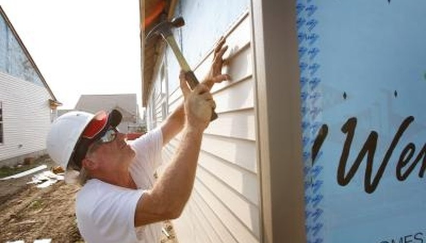 Siding installation protects your home from harsh weather.