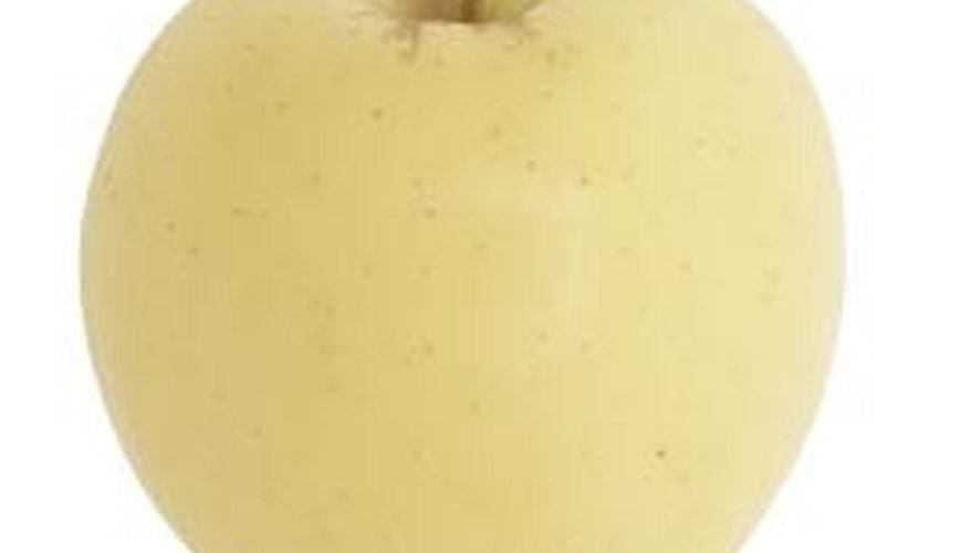 The golden delicious apple is one of the most popular yellow apples.