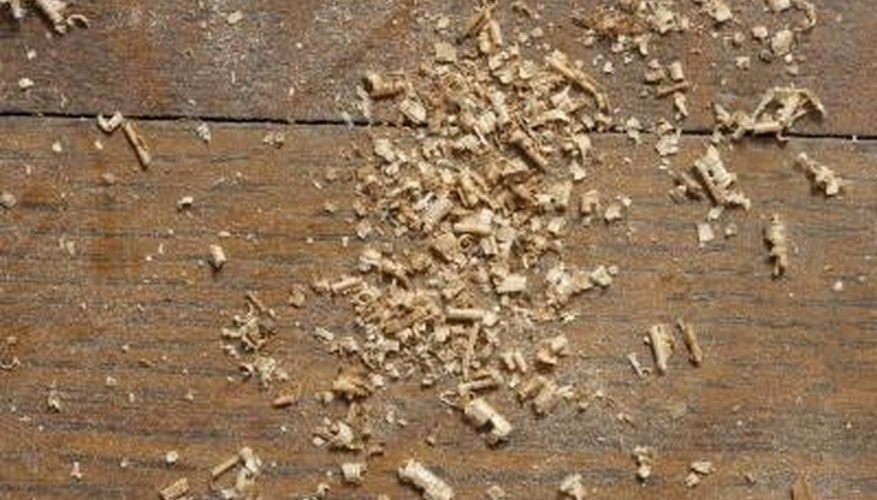 Wood briquettes make great use of sawdust and wood shavings.