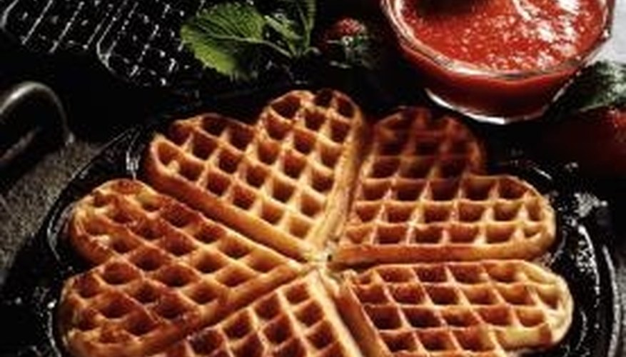 Waffle irons are not just for waffles.