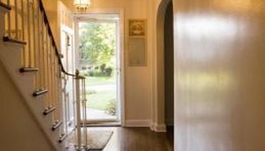 Engineered hardwood floors look similar to traditional hardwood.