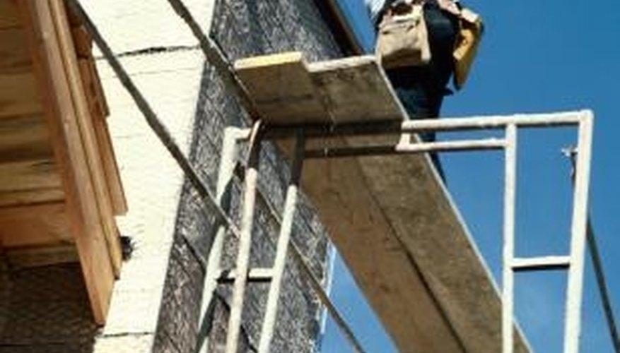 Always install brick ties prior to laying the brick veneer.