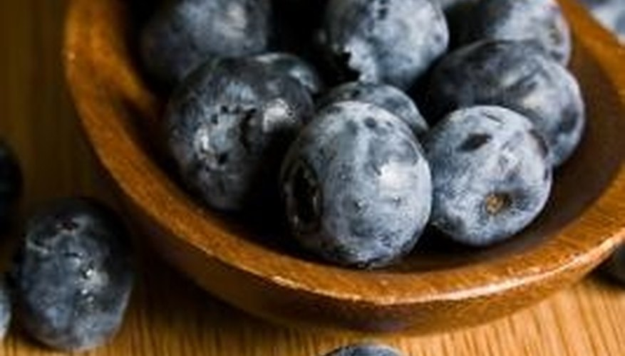 Blueberries can be enjoyed raw or baked.