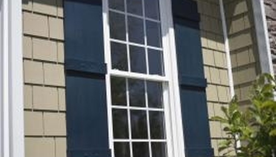 An excellent example of a Colonial Revival window.