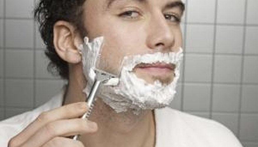 Shaving creams provide close shaves, but the dispensers often are messy.