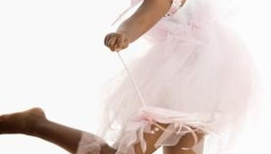 Donate your child's dance costume if she has outgrown it.