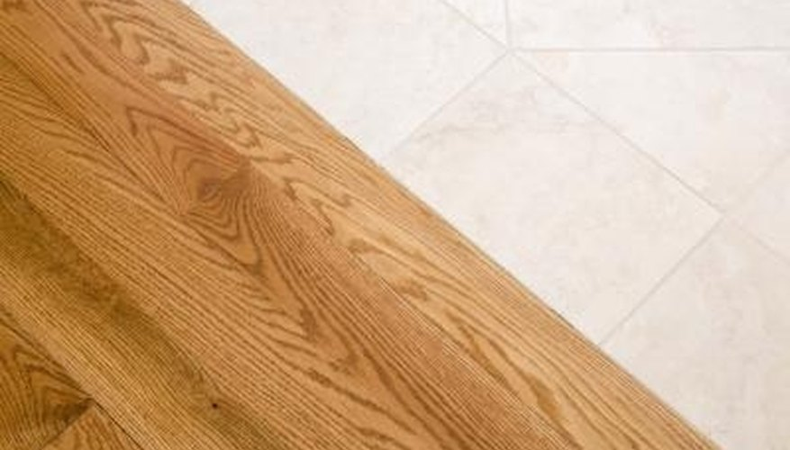 You must use the correct tools to strip a wood floor.
