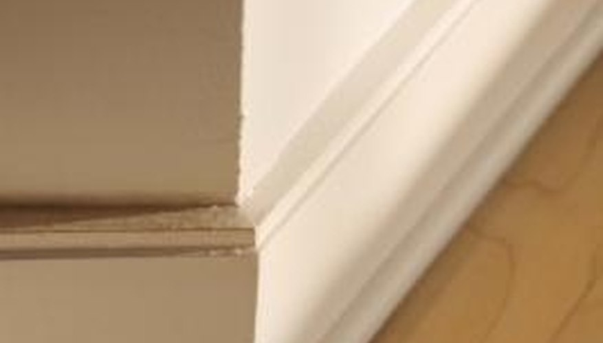 Baseboards accent the transition between the floor and wall.
