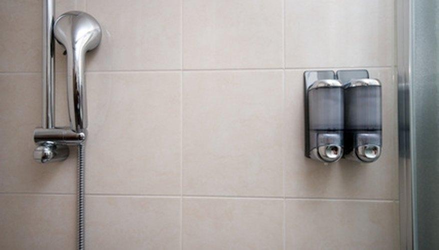 Get clean in a clean shower.
