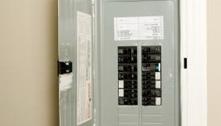 Locate a GFCI in your home's breaker box