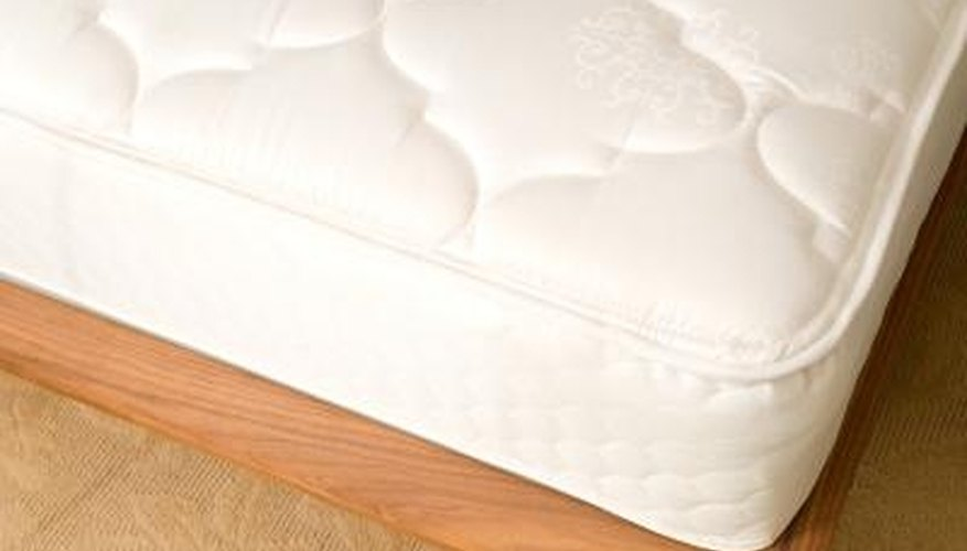 When a mattress sits too high, lower it to make getting in and out of bed easier.