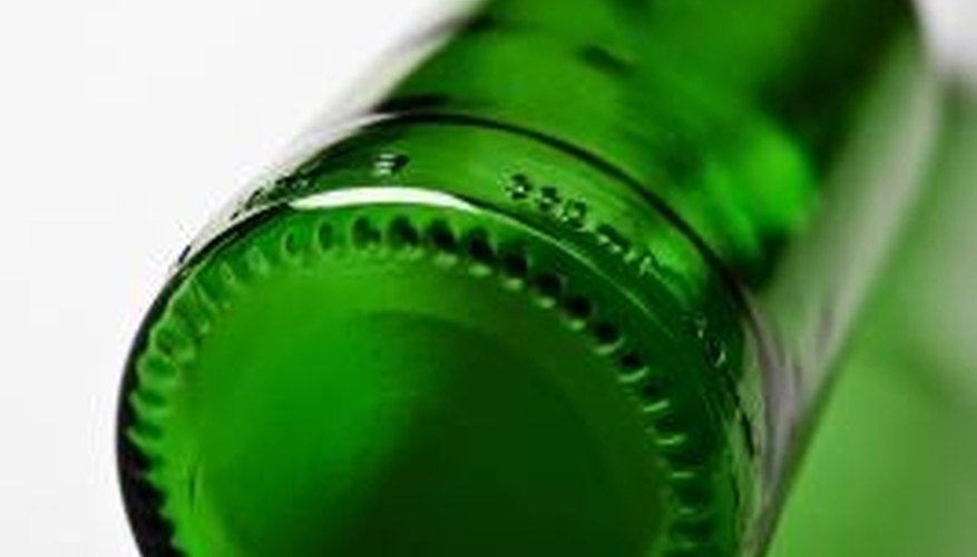 You can use glass bottles for useful crafts or recycle them.