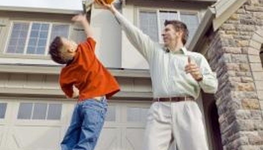 Mount a basketball hoop on your roof and enjoy the game.